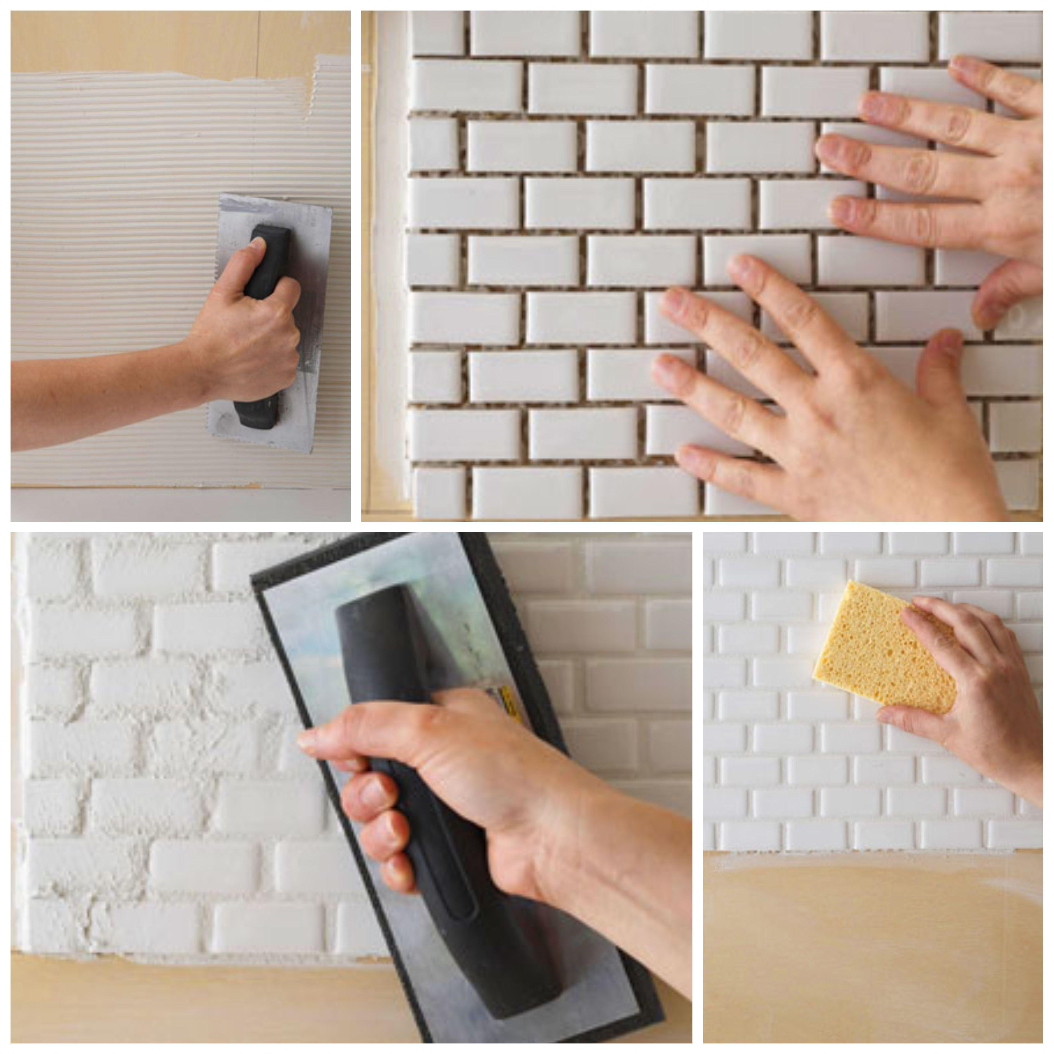 Adhesivos Para Azulejos Los Adhesivos Blancos De L Tex Acr Lico  ~ Mosaicos De Azulejos En Paredes