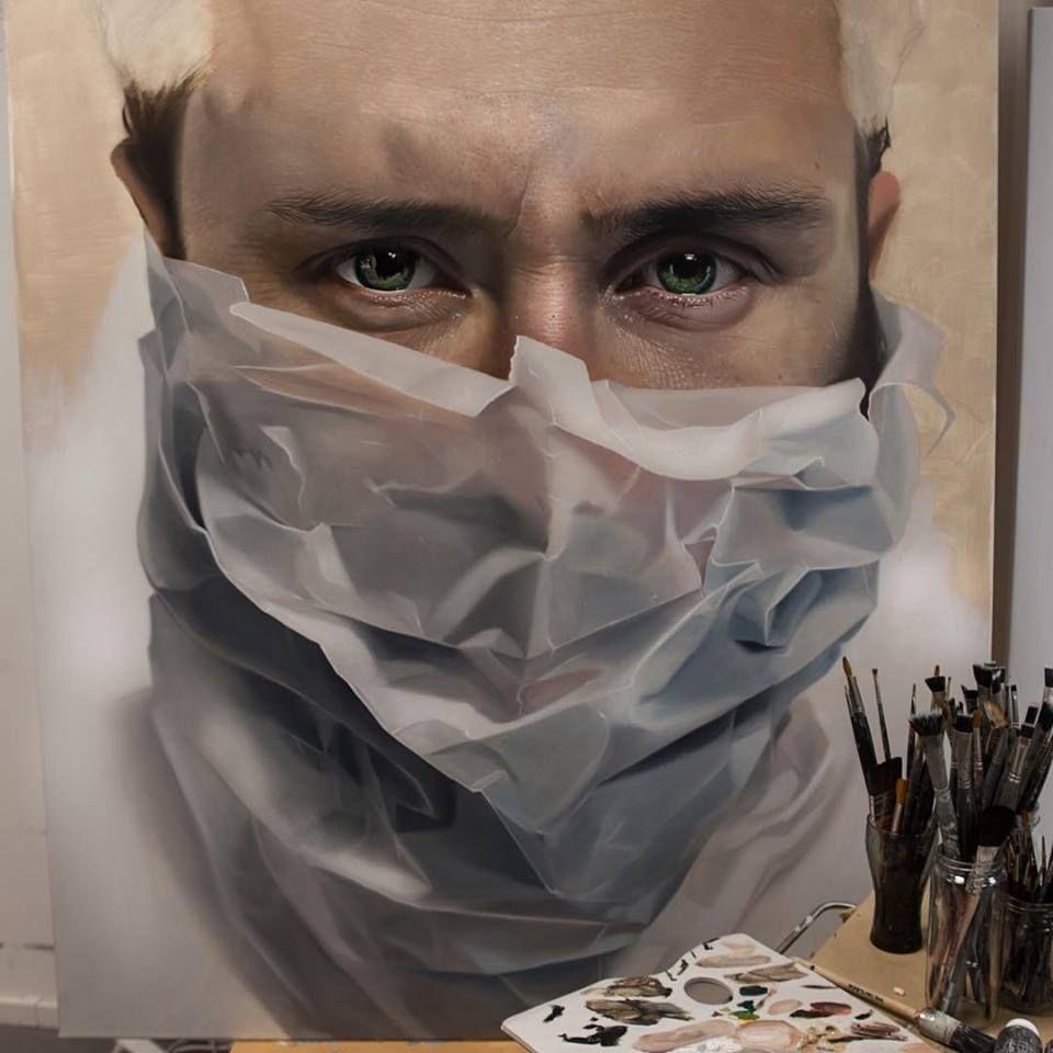 O Hiper Realismo Impressionante de Mike Dargas