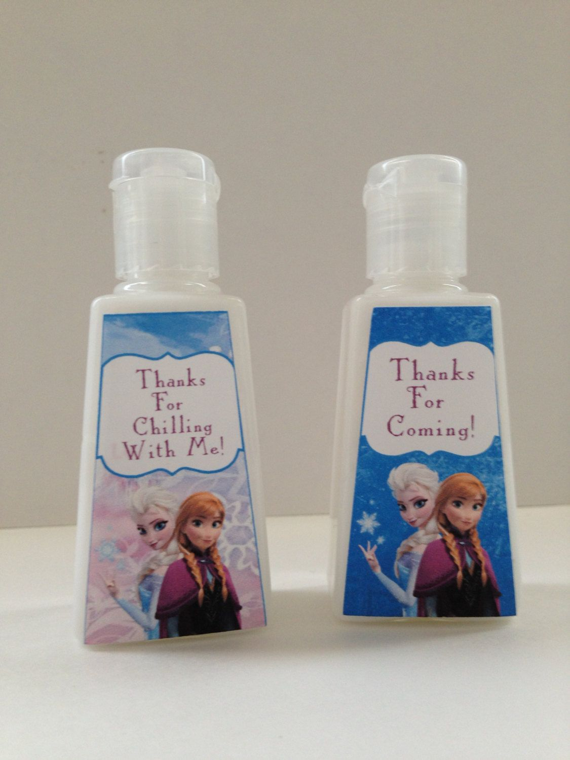 Disney Frozen Pocket Sized Lotion Favors Disney By Createdtoparty