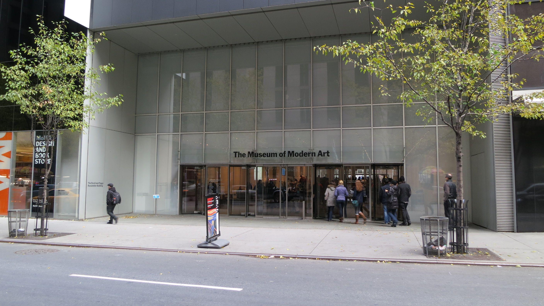 Exterior Museum Of Modern Art Modern Art Museum