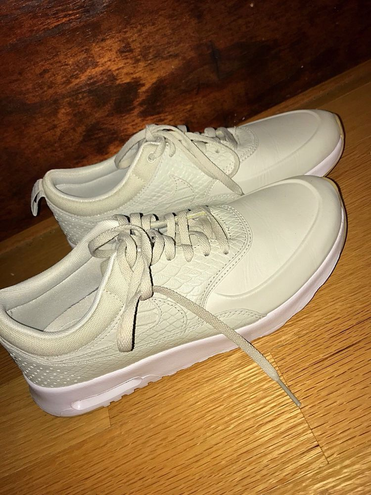 3c4587ea5c Nike Air Max Thea Premium Light Bone(Beige) 616723-020 Women's Size 7.5  #fashion #clothing #shoes #accessories #womensshoes #athleticshoes (ebay  link)