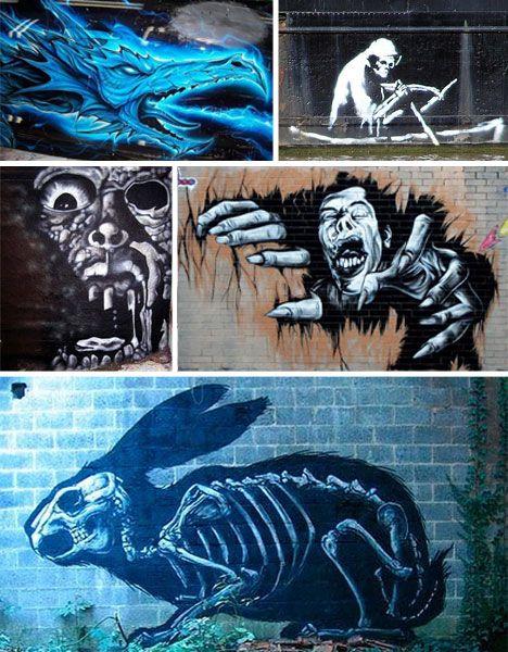 Graffiti Monsters That Go Beyond Halloween Horror Urbanist