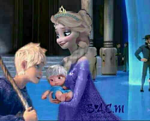 Elsa The Baby Came I Cried Tears Of Joy Jack Wiped Away One