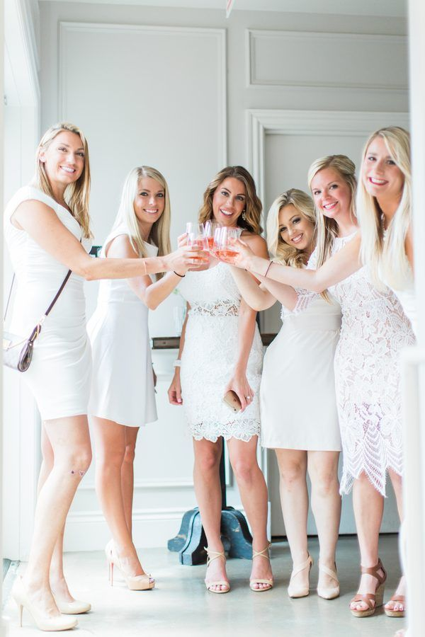 Clic All White Bridal Shower By Bonphotage Hens Party Themes