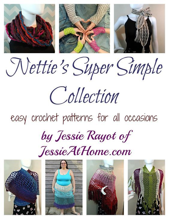 Nettie\'s Super Simple Collection - easy crochet patterns for all ...