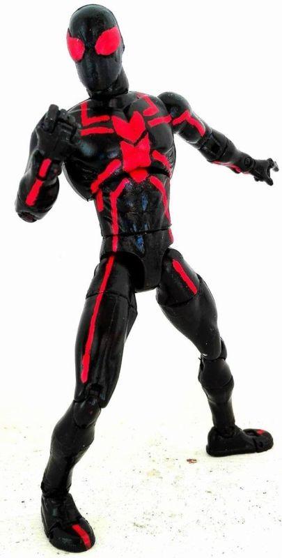 big time spiderman sonic spider man custom action figure custom