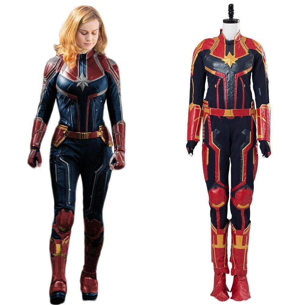 Ms Marvel Cosplay Captain Marvel Costume Carol Danvers Bodysuit Women Outfit Diy captain marvel costume that only takes a couple days and roughly $23 to make. موسسه مالی بازرگانی پارسیان psbf
