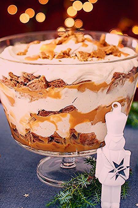 Photo of Spekulatius-Toffee-Trifle Rezept | LECKER