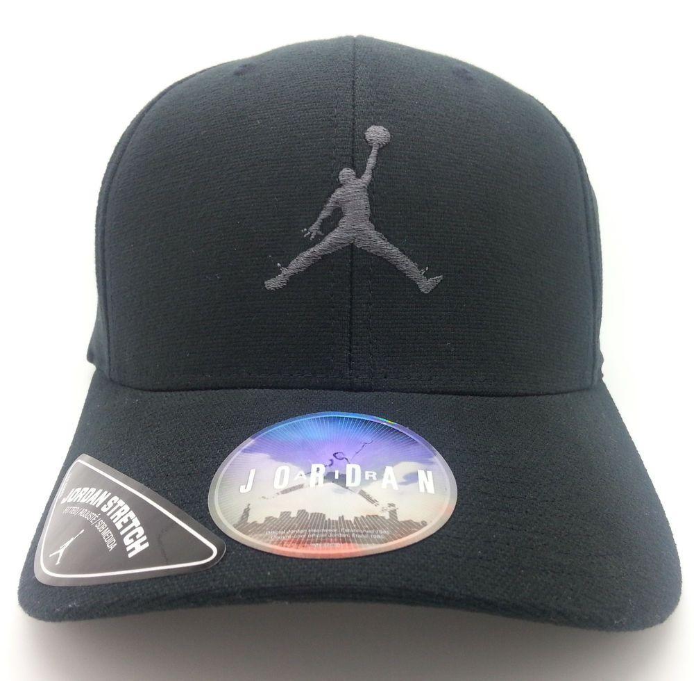 5adac3554dd AIR JORDAN JUMPMAN FLEXFIT FITTED JORDAN STRETCH HAT CAP (SMALL MEDIUM) --  NEW  AIRJORDAN  BaseballCap