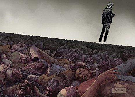 The Walking Dead #100 Poster by Image Comics