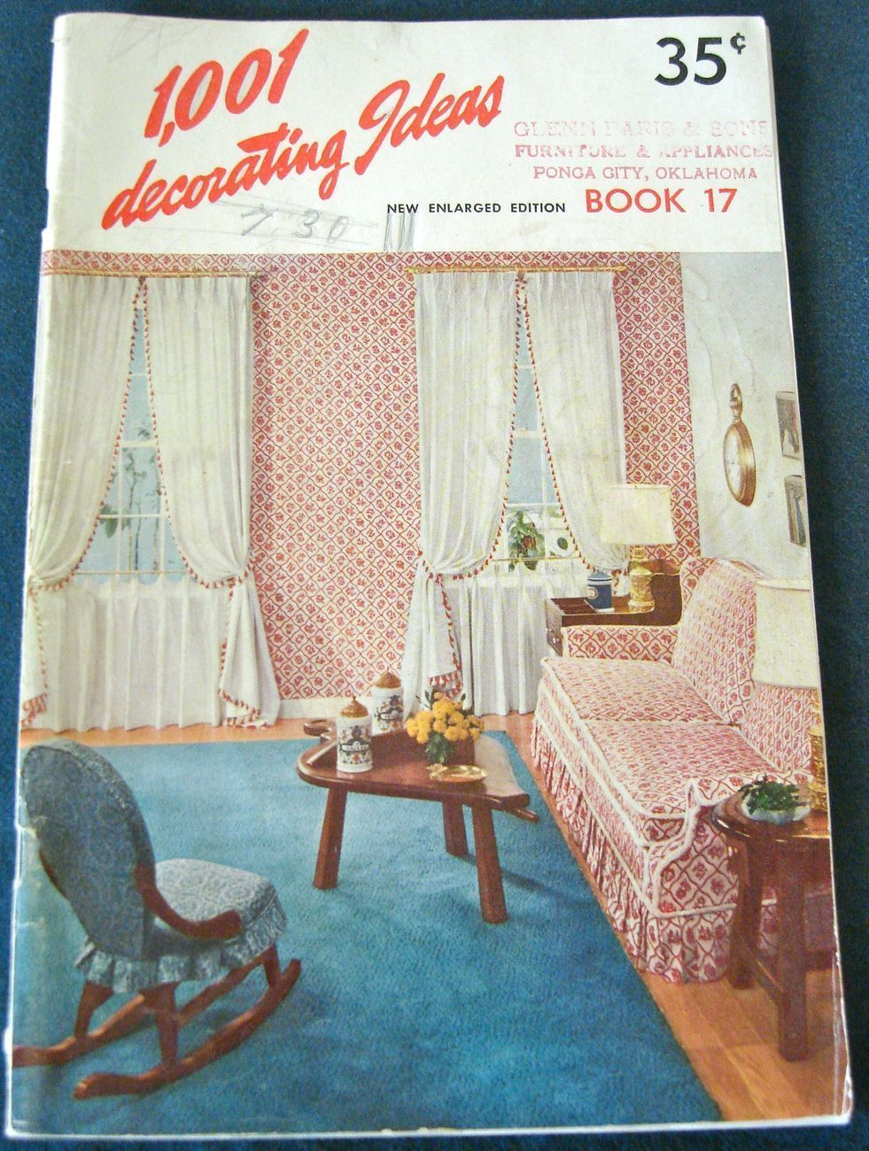 Vtg 1960 1001 Decorating Ideas Book 17 Sixties Style ...