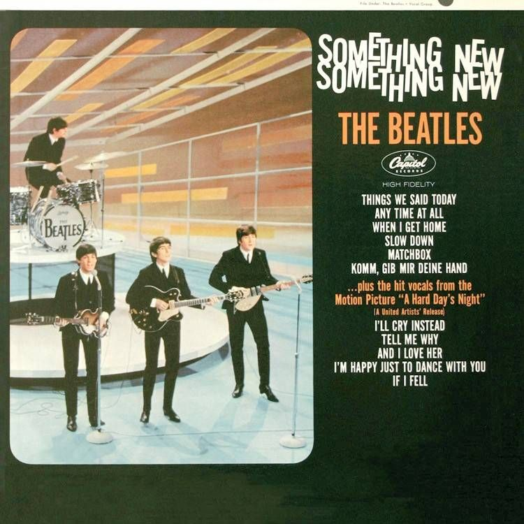 THE BEATLES - Something New (1964)  [Capitol Records, USA