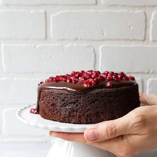 Chocolate Sour Cream Cake Dessert For Two In 2020 Small Chocolate Cake Mini Chocolate Cake Chocolate Cake For Two Recipe