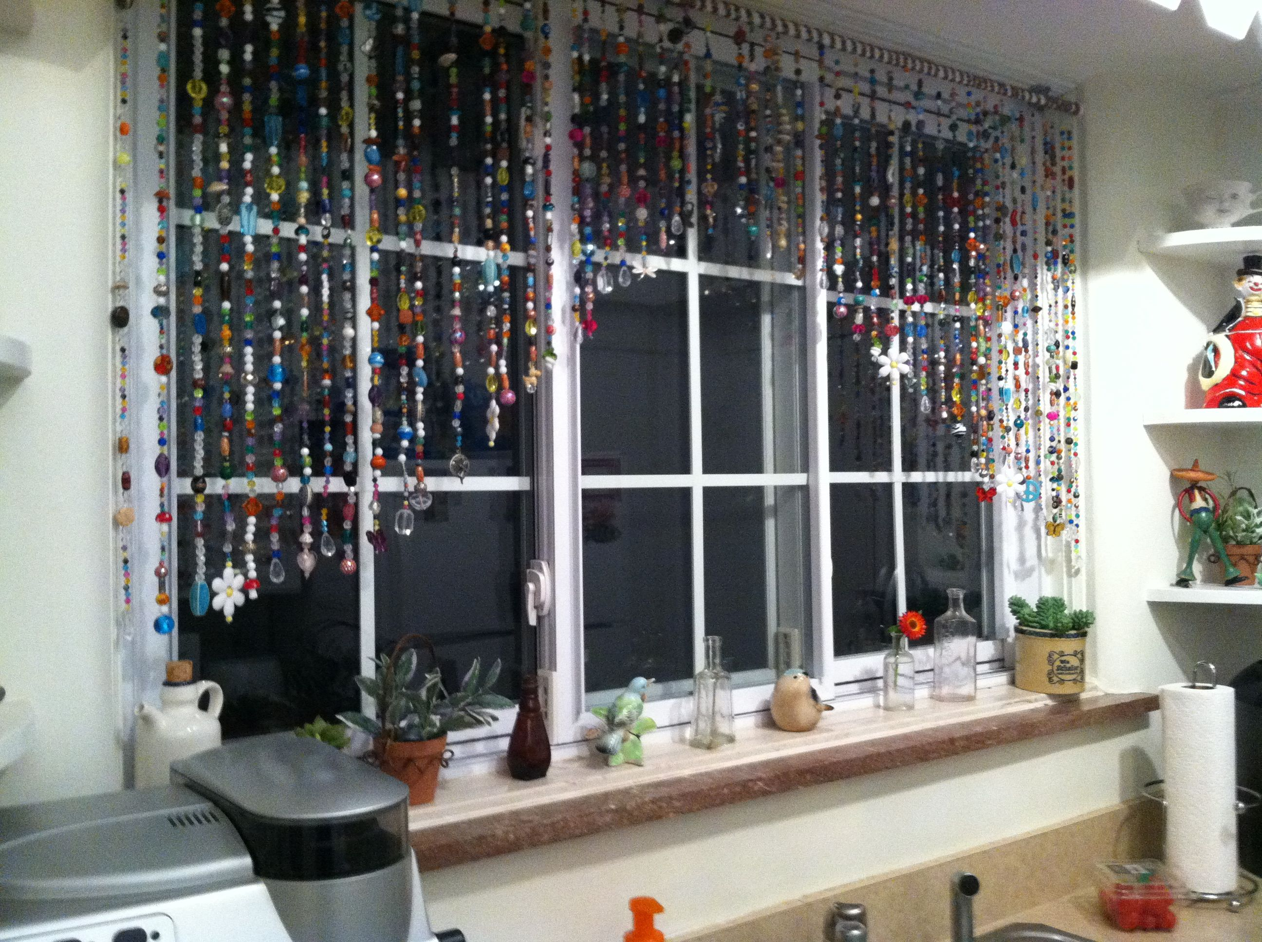 Beaded curtains so must fun to make beaded curtains