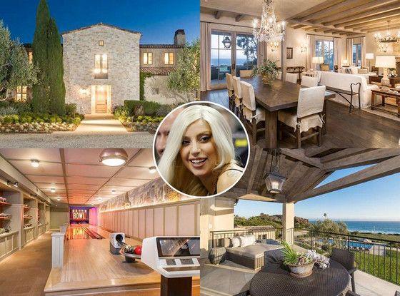 Lady Gaga Buys Mansion That Has A Batcave Celebrity Mansions Mansions Mega Mansions