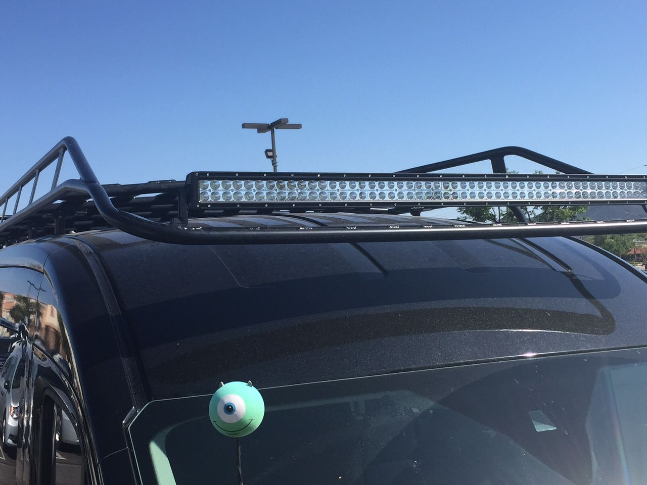 Aluminess Roof Rack Installed On A Ford Transit