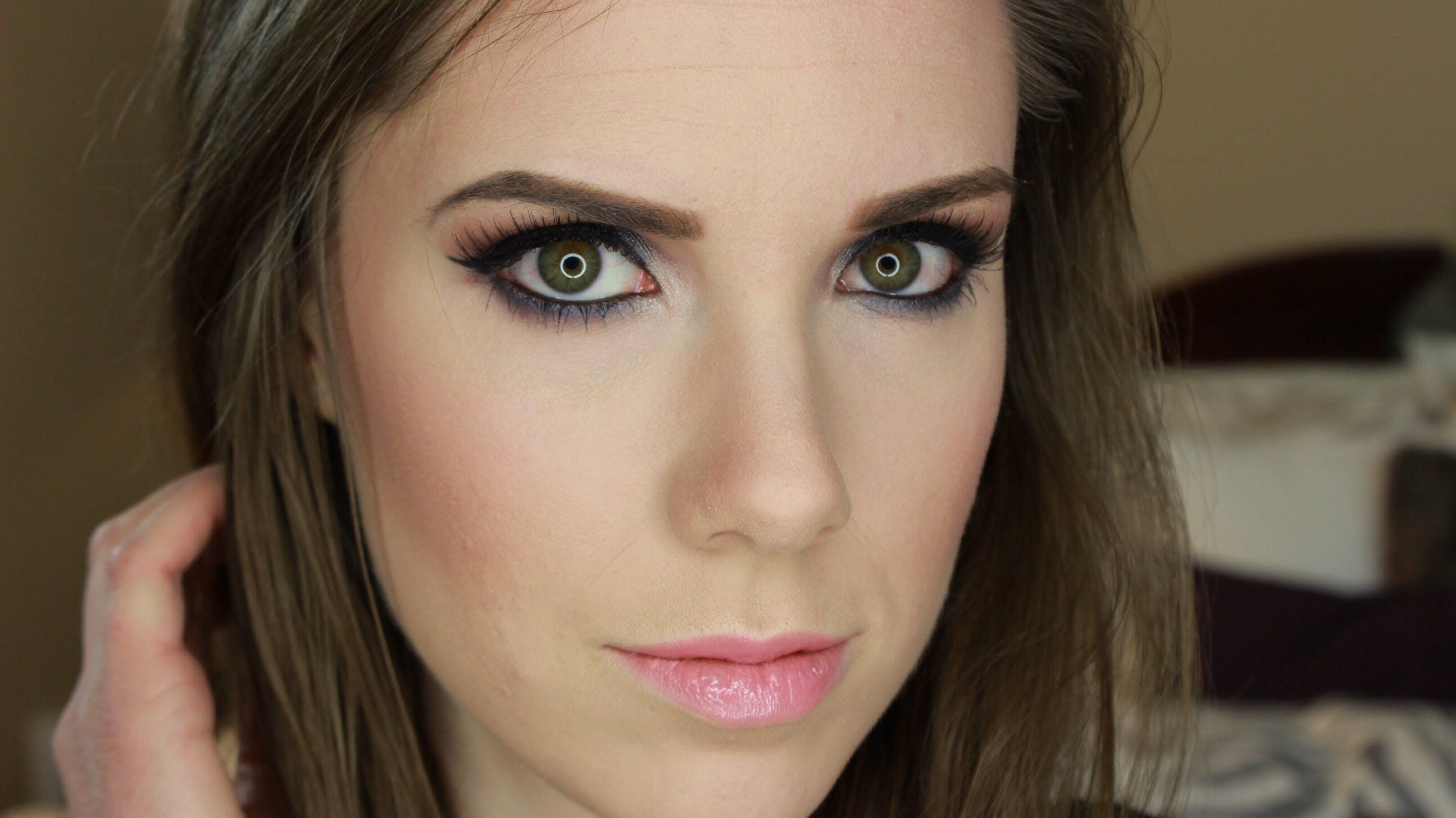beautiful spring smokey eye tutorial!! Smokey eye