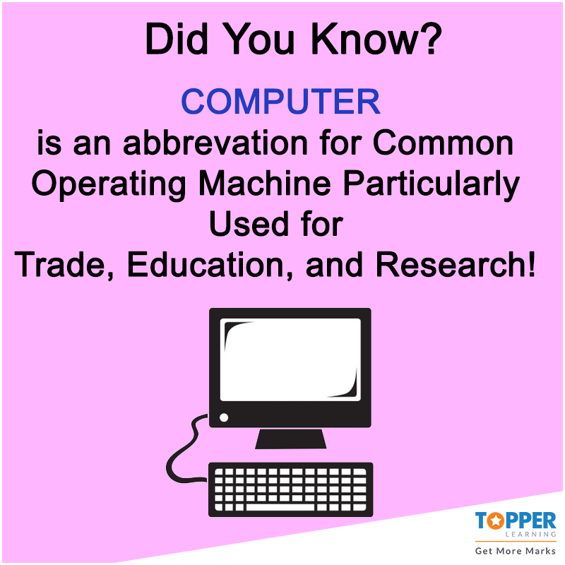 #didyouknow Computer Abbrevation Common