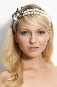 Look Your Best with Nice Pearls – Pearl Headband DIY  231b4e1e9df