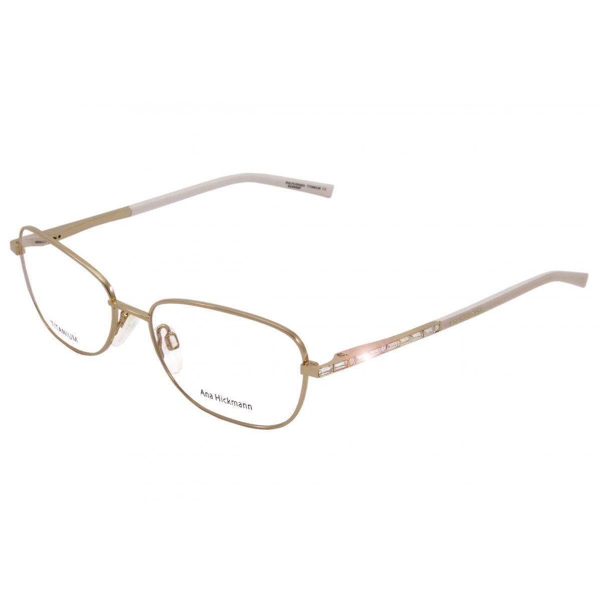 Oculos De Grau Ana Hickmann Titanio Ah1261 04a Tam 54 With Images