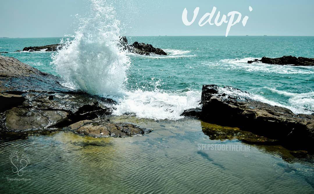 Dancing Waves At St Mary S Islands Udupi Karnatakatourism