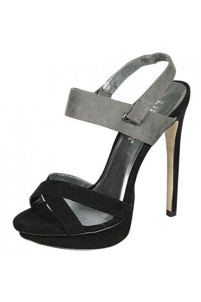 8e39ee4997a9 FAUX SUEDE UPPER OPEN TOE SEXY PLATFORM SANDAL-Sandals-Sexy Sandal ...