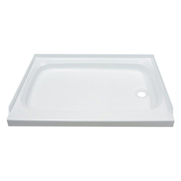 Image May Not Reflect Your Exact Vehicle Or Part Better Bath 24 X 46 White Plastic Shower Pan Shower Pan Best Bath Shower