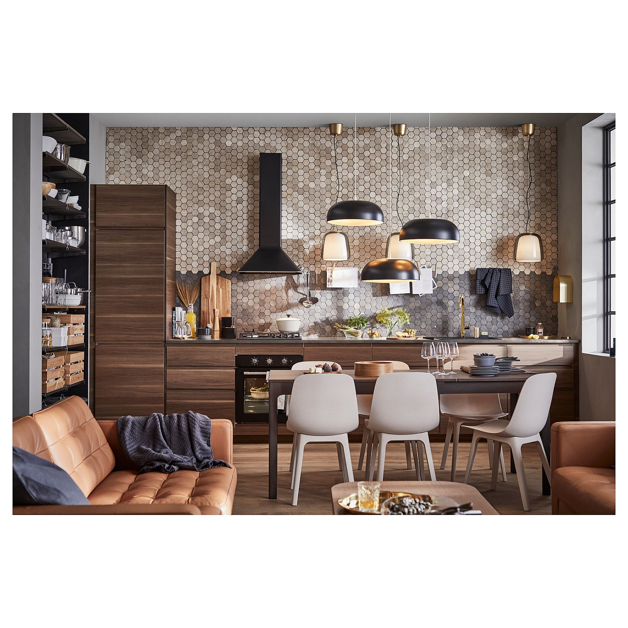 Countertop Dining Room Sets: IKEA - ODGER Chair White, Beige In 2019