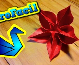 How to make an star flower origami