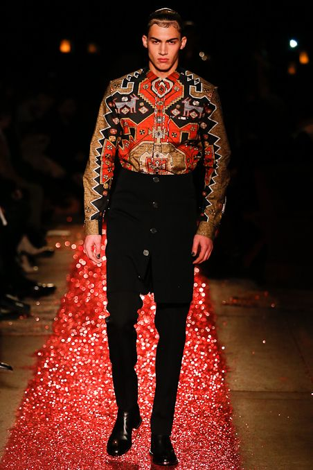 Givenchy Fall 2015 Menswear - need, want, crave