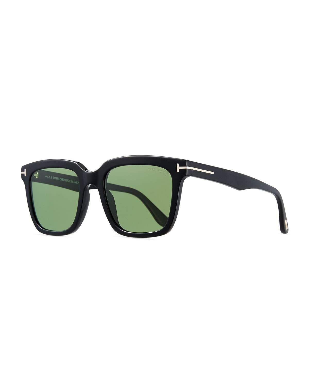 2ab8d5f5c3ab TOM FORD Men s Rectangular Acetate Sunglasses