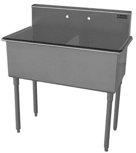 Griffin T60 288 Double Bowl Scullery Sink Stainless Steel You