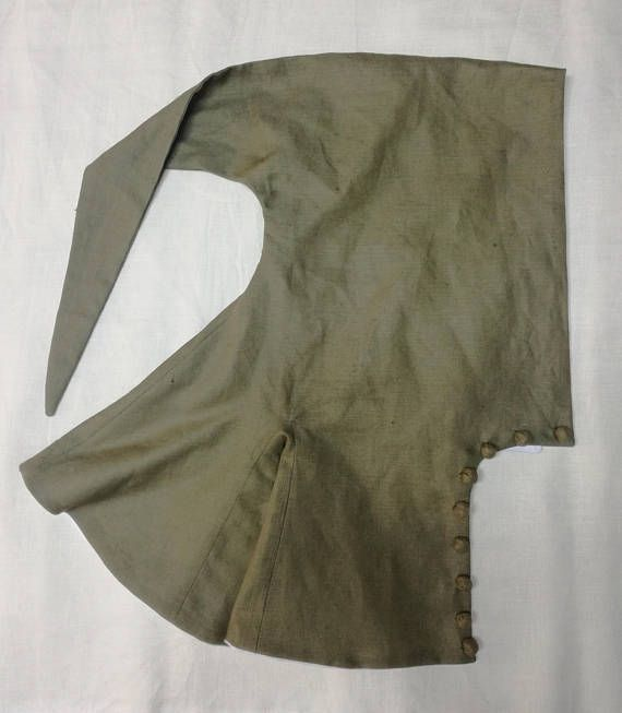 Chausses made thin linen fabric for medieval re-enactment. Qe5ASzvv