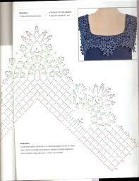 Resultado de imagen para aplicações em croche para blusas
