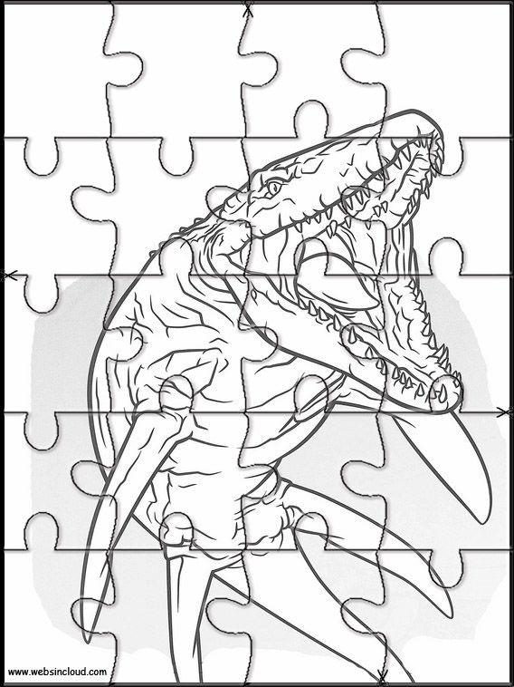 jurassic world 28 zu drucken puzzlespiele aktivitäten für
