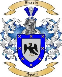 Garcia Family Coat of Arms from Spain | Family Crest | Family crest