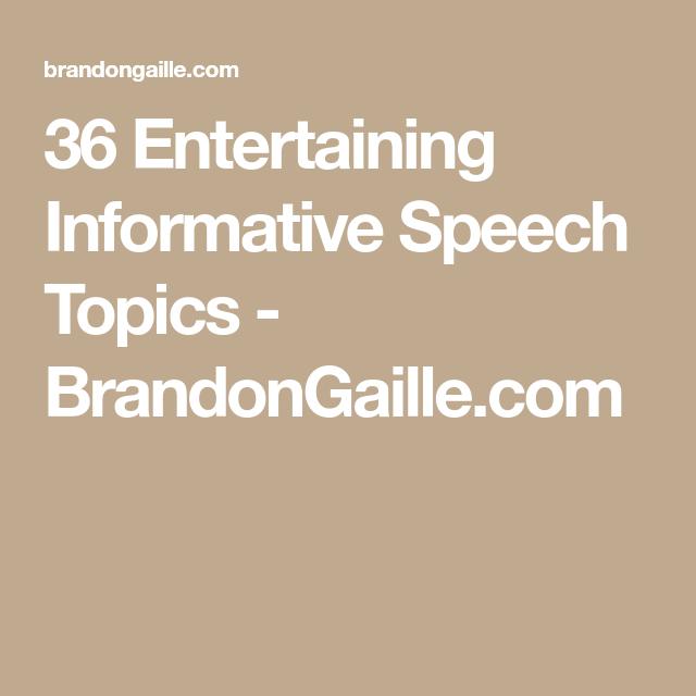 Entertaining Informative Speech Topics  Reading Aloud