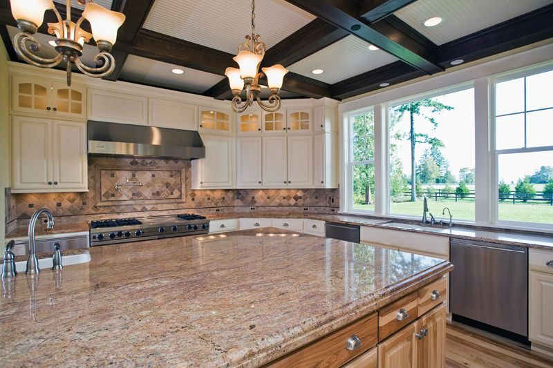 Lydelle Luxury Craftsman Home Kitchen Photo 01 from