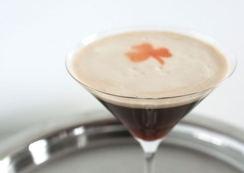 Feeling lucky? Try an Irish Manhattan: Jameson, vermouth, Guinness and Angostura bitters...