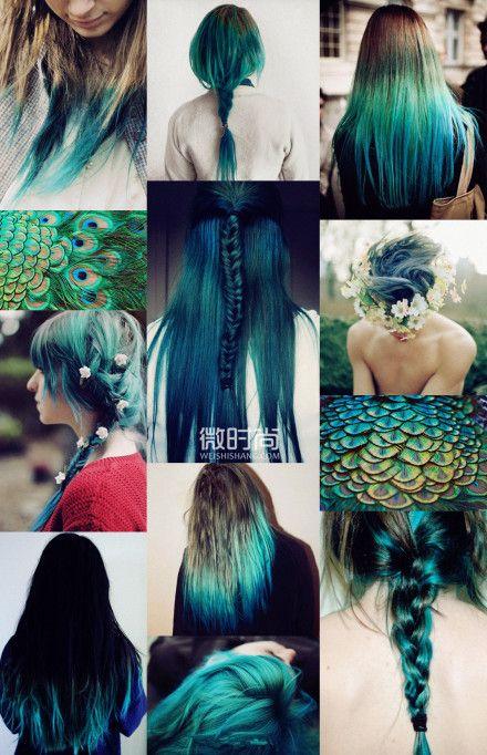 Something Blue 画像あり クールなヘアスタイル ヘアチョーク