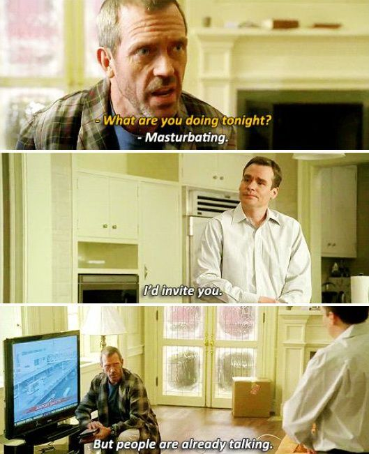 House's potential gay relationship with Wilson