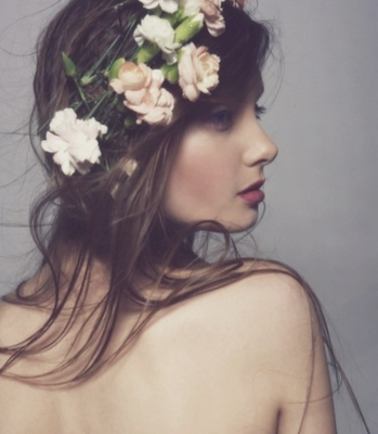 crown of blooms