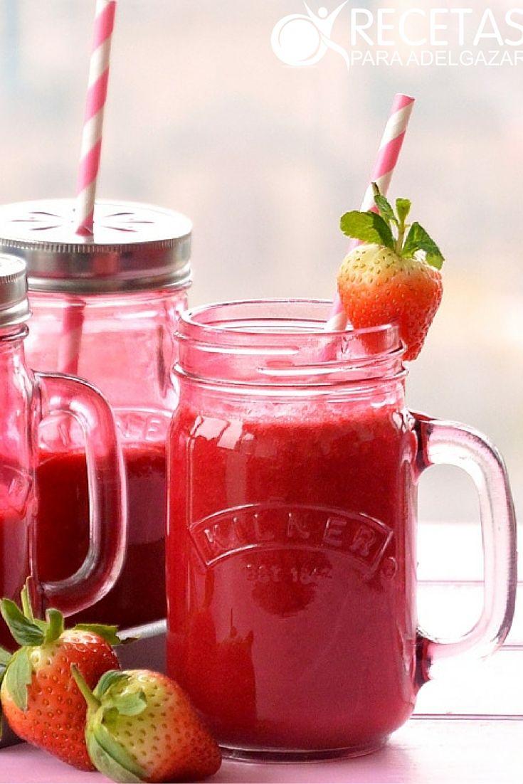 batidos de frutas saludables para perder peso recetas
