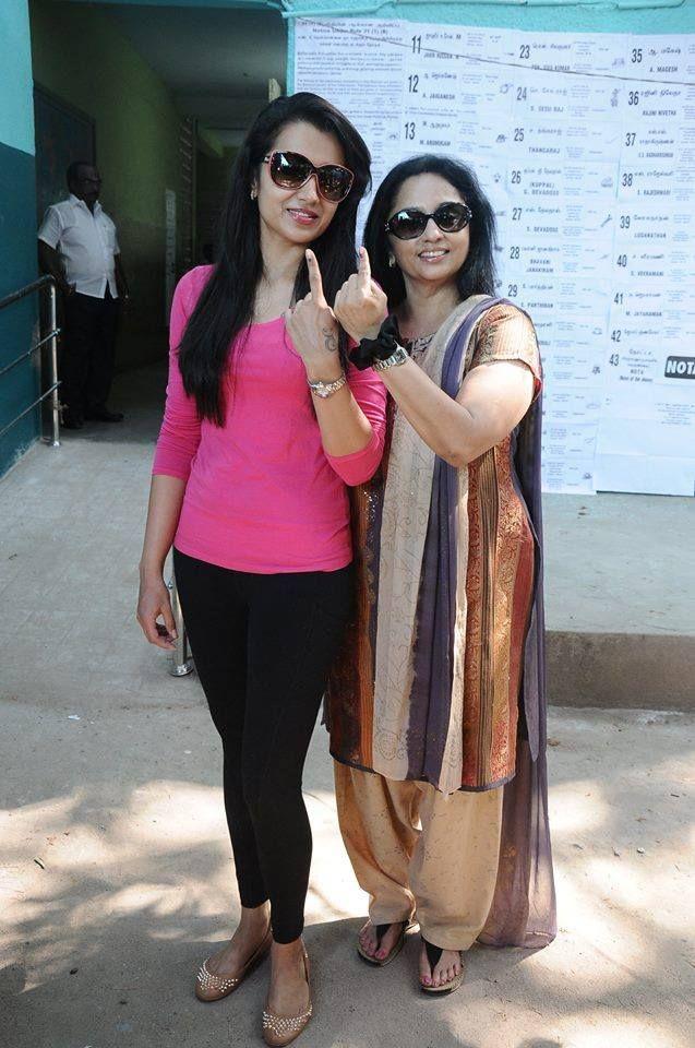 Image result for trisha mother