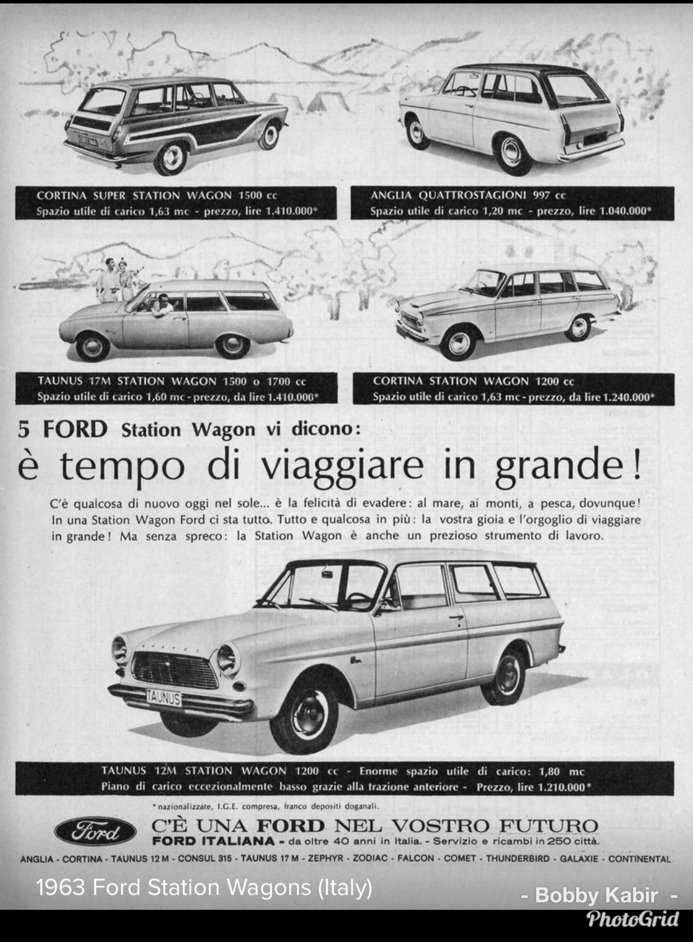 1963 Ford Station Wagons Italy By Michael On Flickr Station