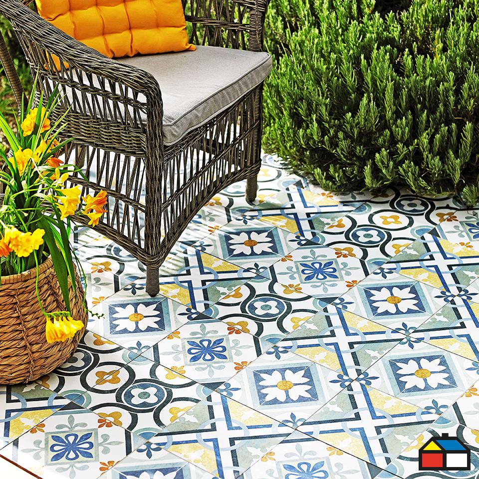Ceramica piso pisos y terrazas for Sodimac terrazas
