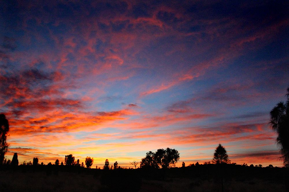 Sunrise on camelback #NTAustralia