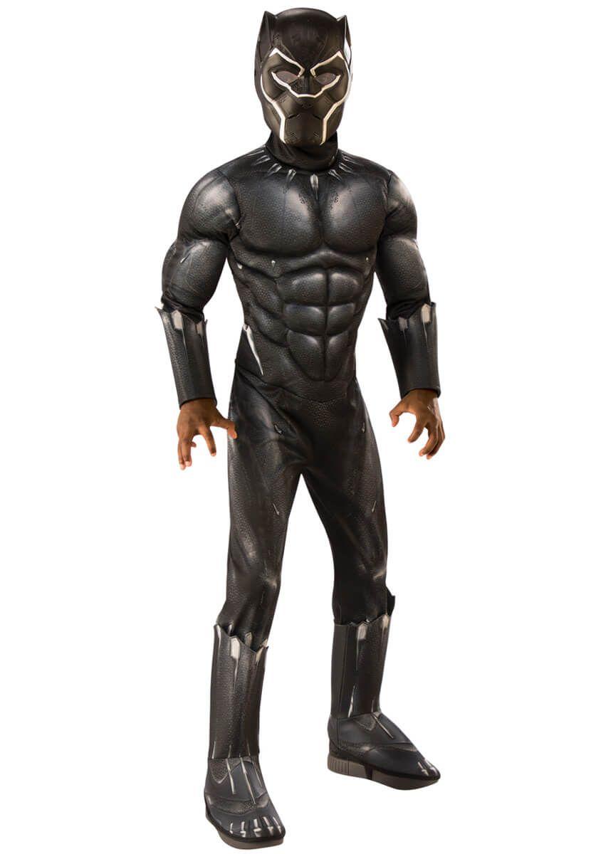 Captain America 3 Civil War Black Panther Costume Halloween Costume Plus Shoes