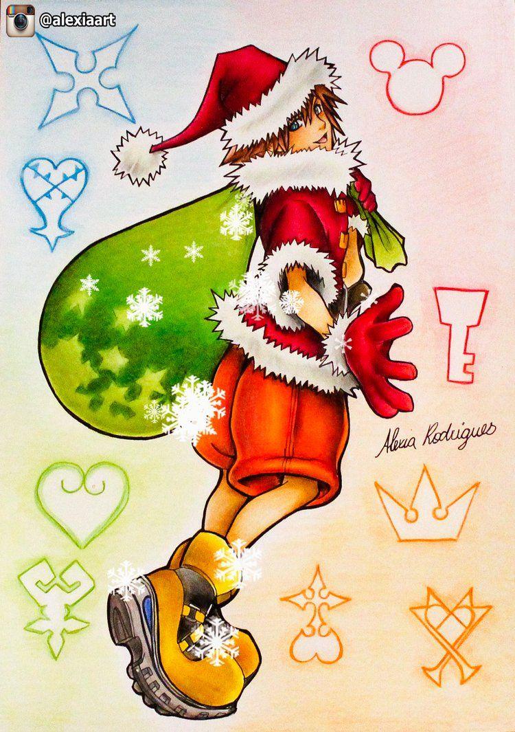 Sora - Kingdom Hearts Christmas Theme by AlexiaRodrigues   Kingdom ...