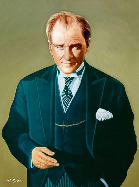 Ataturk Yagli Boya Tablolari Naturmort Portre Resim Fotograf